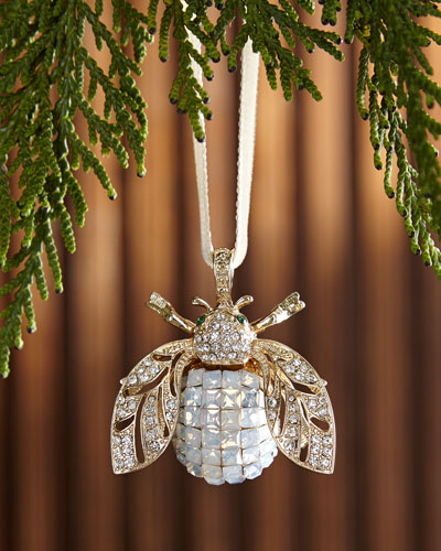 Sparkle Bee Hanging  Christmas Ornament