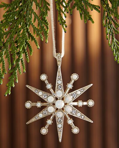 Deco Snowflake  Christmas Ornament