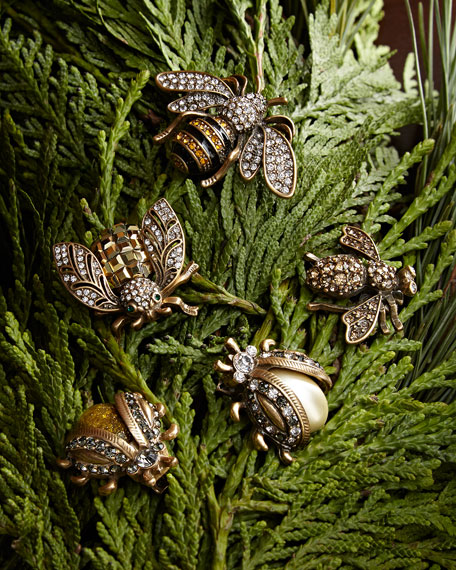 Joanna Buchanan Mini Bug Clip Set, Gold