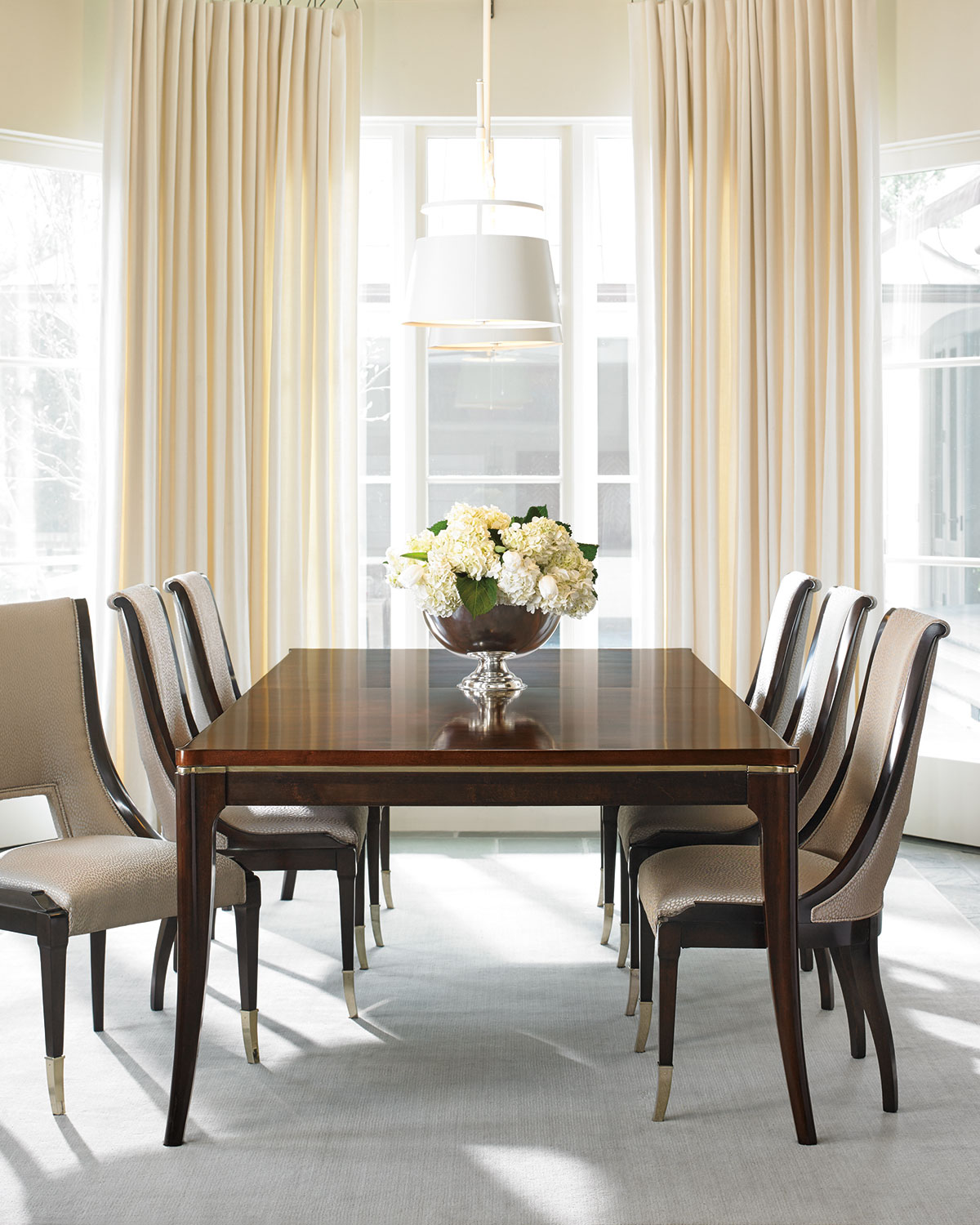 Caracole Open Invitation Dining Table With Two Leaves
