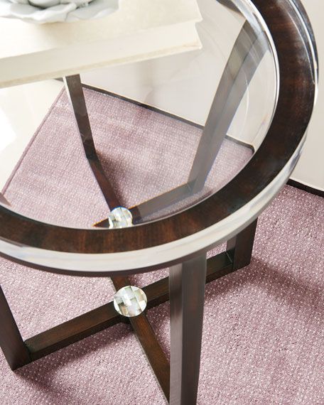 Depth Perception Side Table Neiman Marcus - Coffee table depth