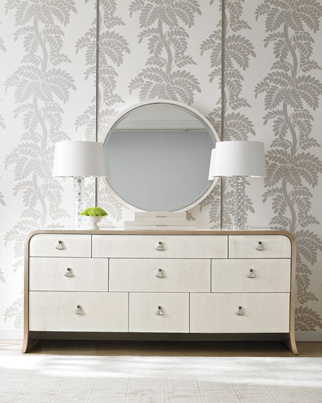 Band Of Gold Dresser Mirror