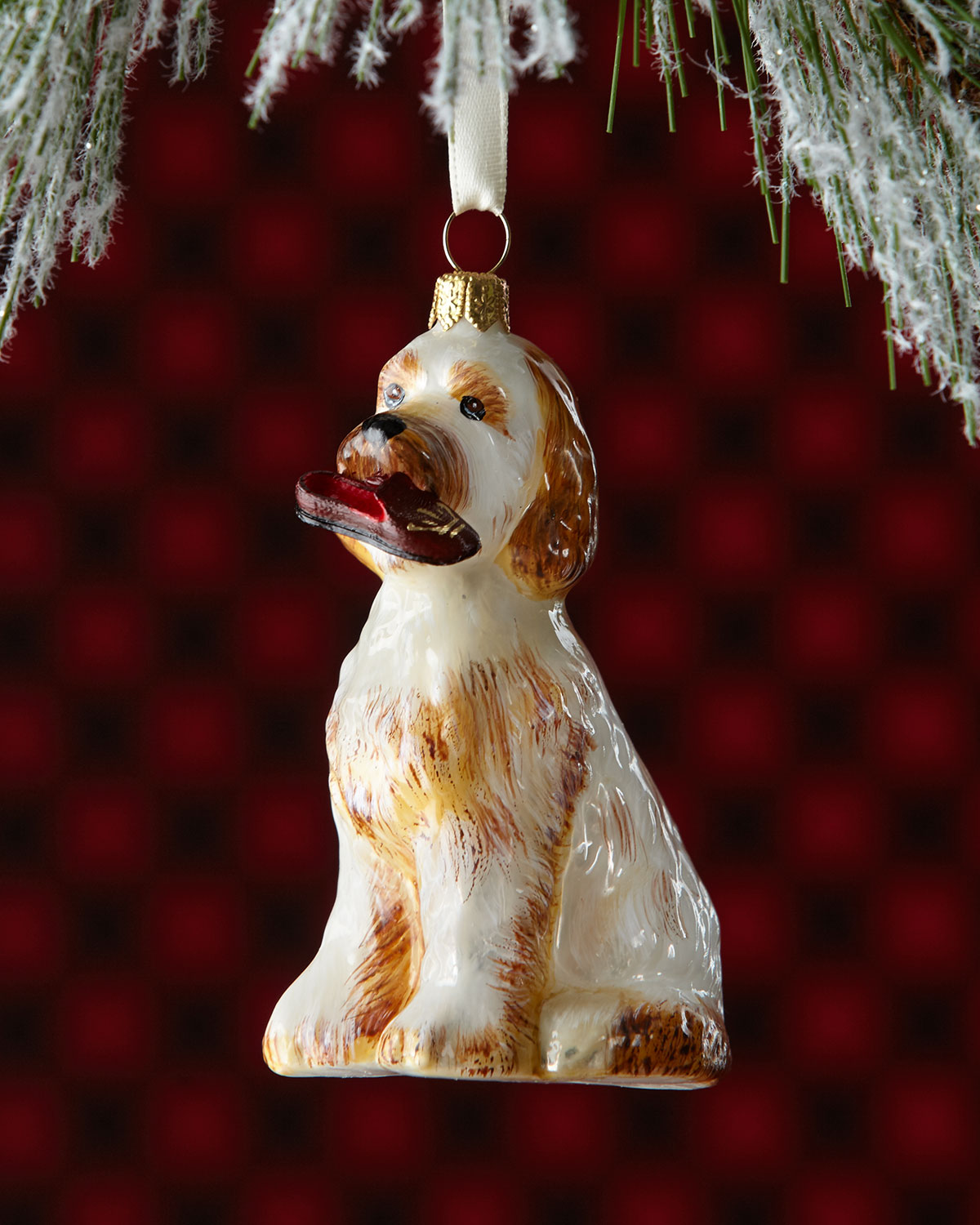goldendoodle dog christmas ornament - Goldendoodle Christmas Decorations