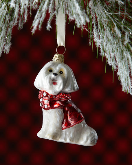 Joy To The World Collectibles Maltese Dog with