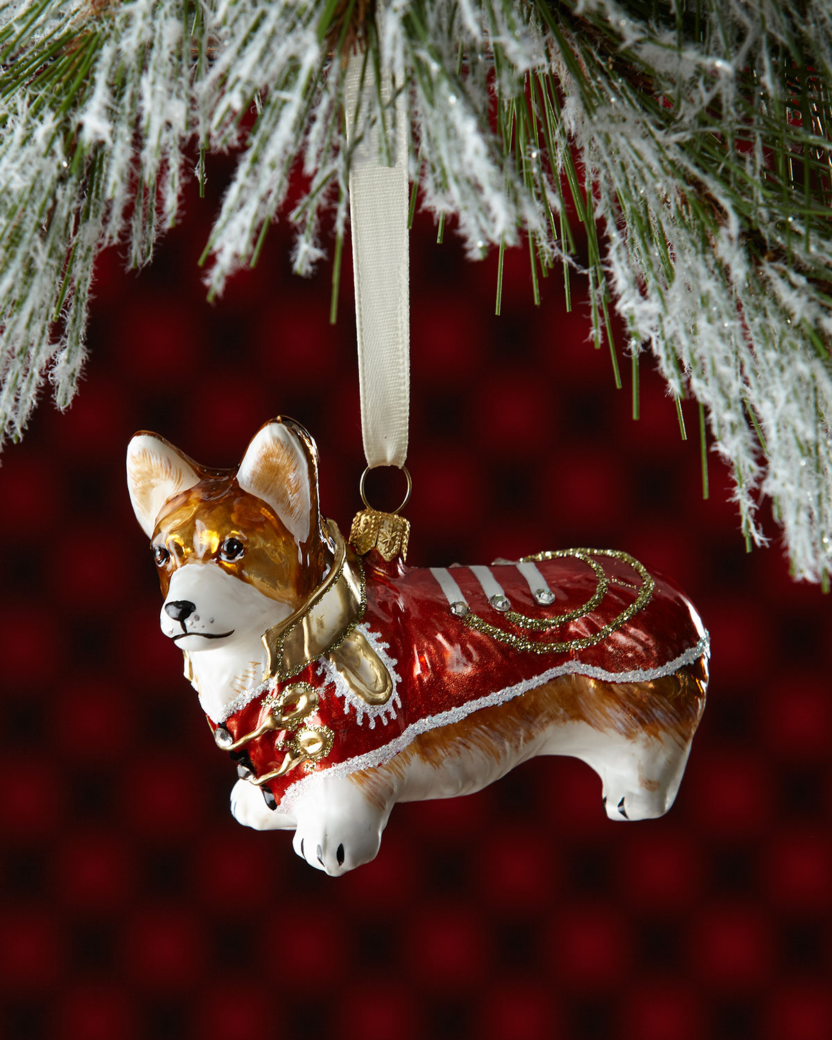 pembroke welsh corgi dog christmas ornament - Corgi Christmas Ornaments