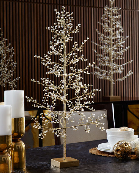 Glimmer & Gold Crystal Tree, 30