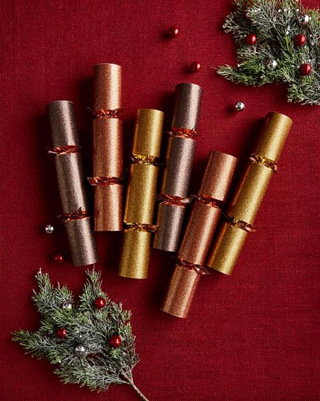 Robin Reed Metallic Christmas Crackers