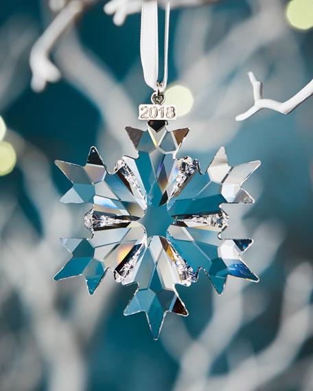 Swarovski Annual Edition 2018 Crystal Snowflake Christmas