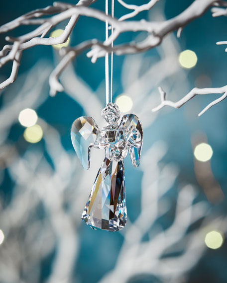 Swarovski 2018 Annual Edition Crystal Angel Christmas Ornament
