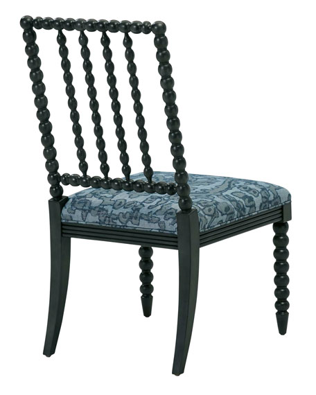 One-of-a-Kind Armless Spindle-Back Chair