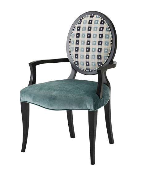 One-of-a-Kind Oval Back Chair