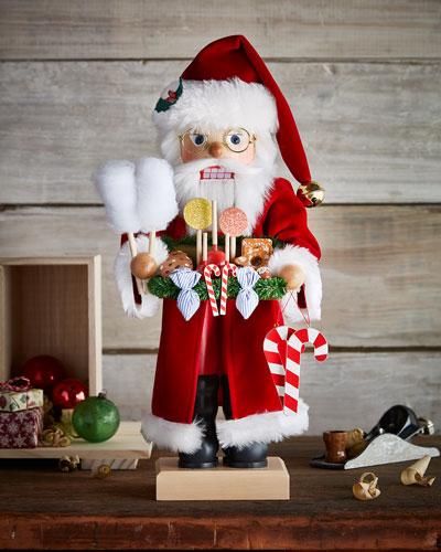 Santa Nutcracker with Candy