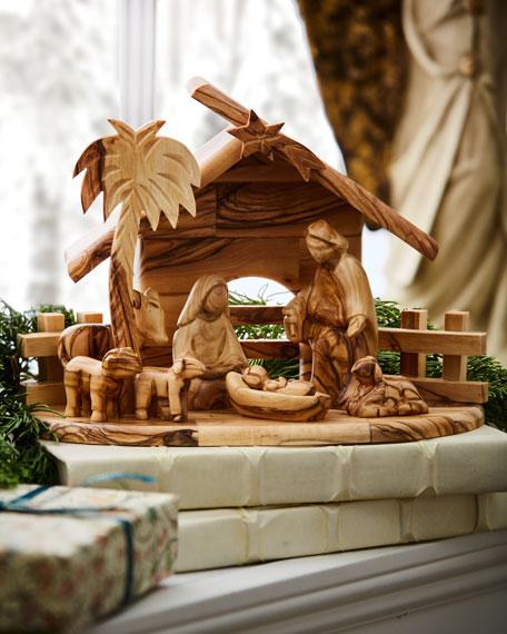 Bethlehem Star 8-Piece Nativity Set
