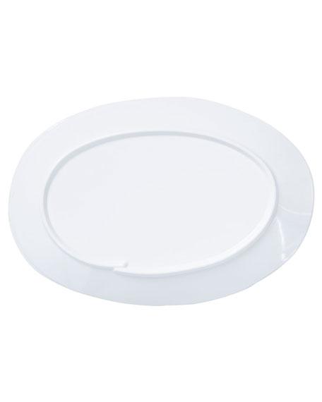 Melamine Lastra Oval Platter