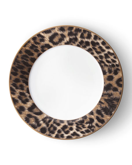 Hutchinson Leopard Dinner Plate