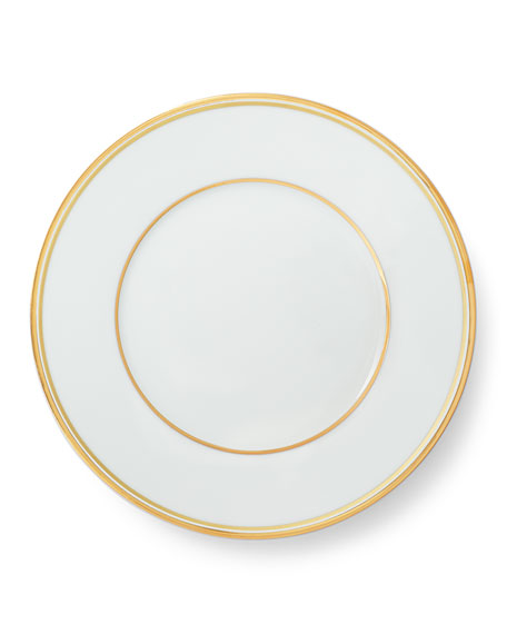 Wilshire Salad Plate, Gold