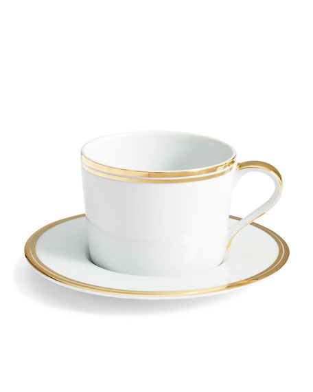Ralph Lauren Home Wilshire Tea Cup and Saucer,