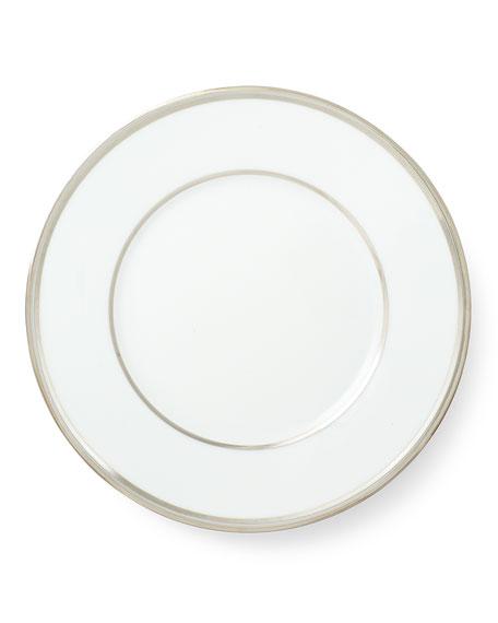 Ralph Lauren Home Wilshire Salad Plate, Platinum