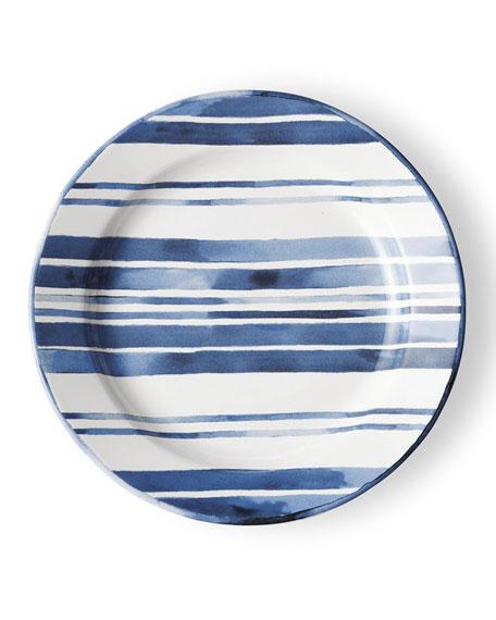 Cote D'Azur Stripe Dinner Plate