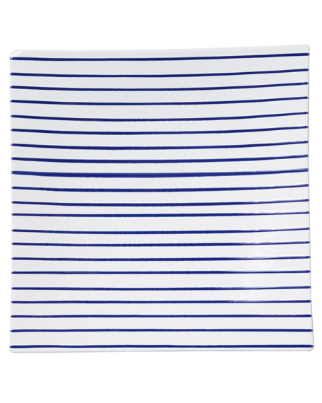 Stripe Square Platter