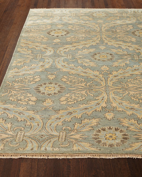 "Monika Hand-Knotted Rug, 9'9"" x 13'9"""