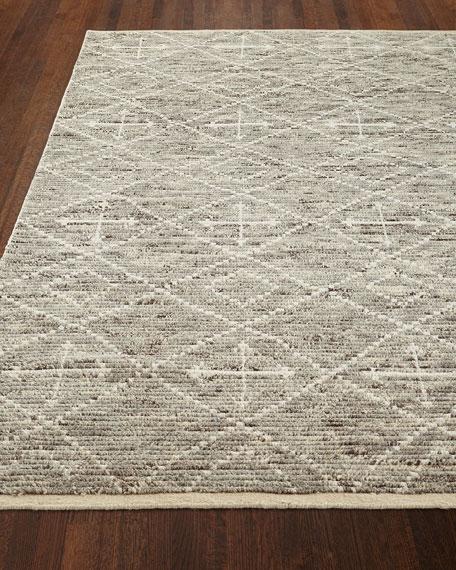 Oscar Hand-Knotted Rug, 3.6' x 5.6'