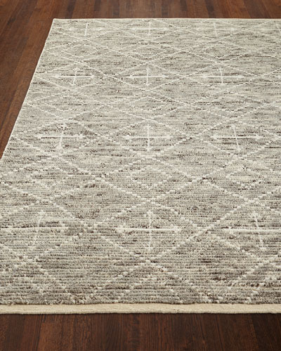 Oscar Hand-Knotted Runner, 2.6' x 8'