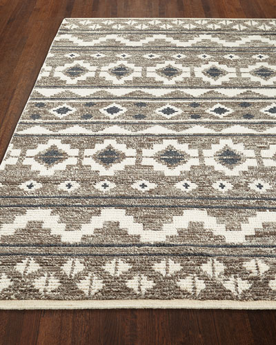 Wilma Hand-Knotted Rug, 5' x 7'
