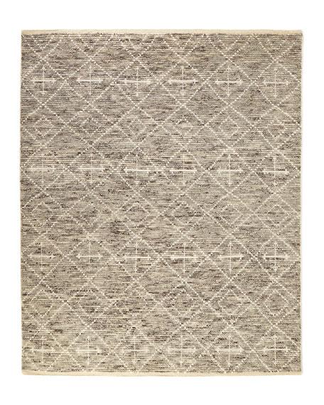 Oscar Hand-Knotted Rug, 5' x 7'
