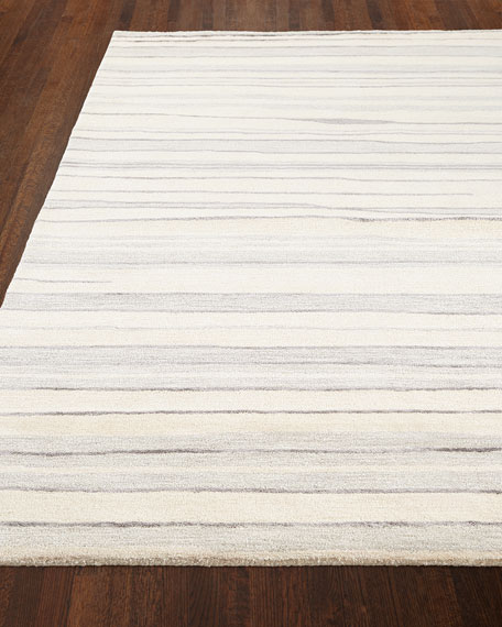 Alana Hand-Tufted Rug, 3.9' x 5.9' and Matching