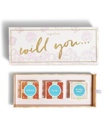 Will You Be My Bridesmaid 3-Piece Bento Box