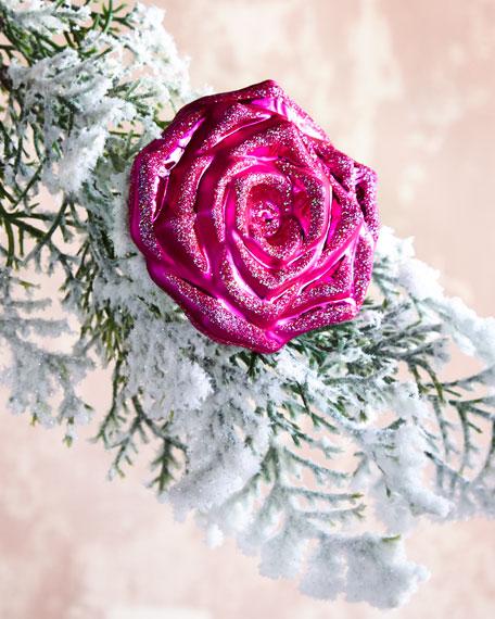 Christborn Wegner Pink Rose on Clip