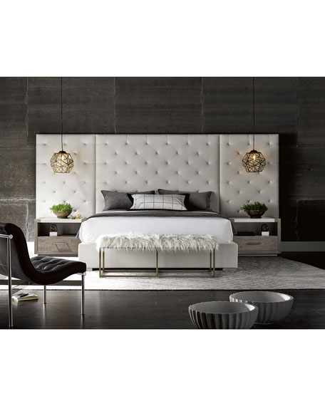 Parigi Tufted King Bed