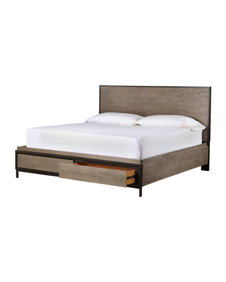 Delroy King Bed with Storage