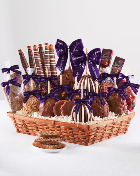 Mrs Prindable's Colossal Caramel Apple Gift Basket