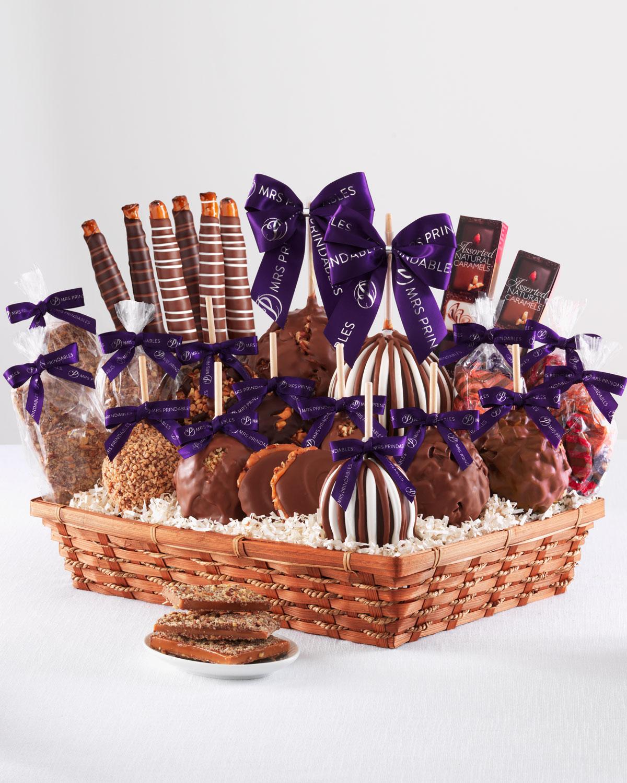 Caramel Apple Gift Basket: Mrs Prindable's Colossal Caramel Apple Gift Basket