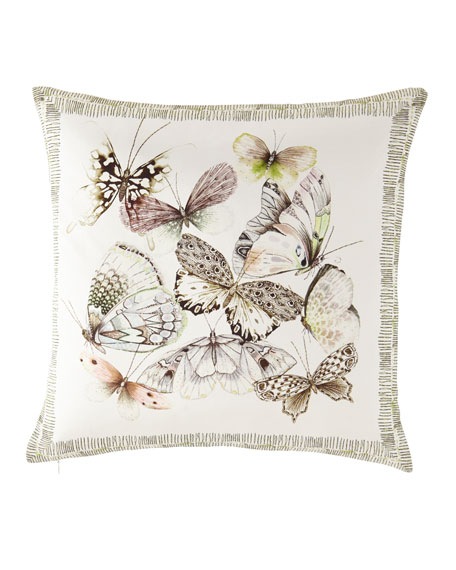 Papillons Shell Pillow