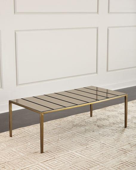 Kia Glass Paneled Coffee Table