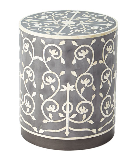 Julia Bone Inlay Side Table