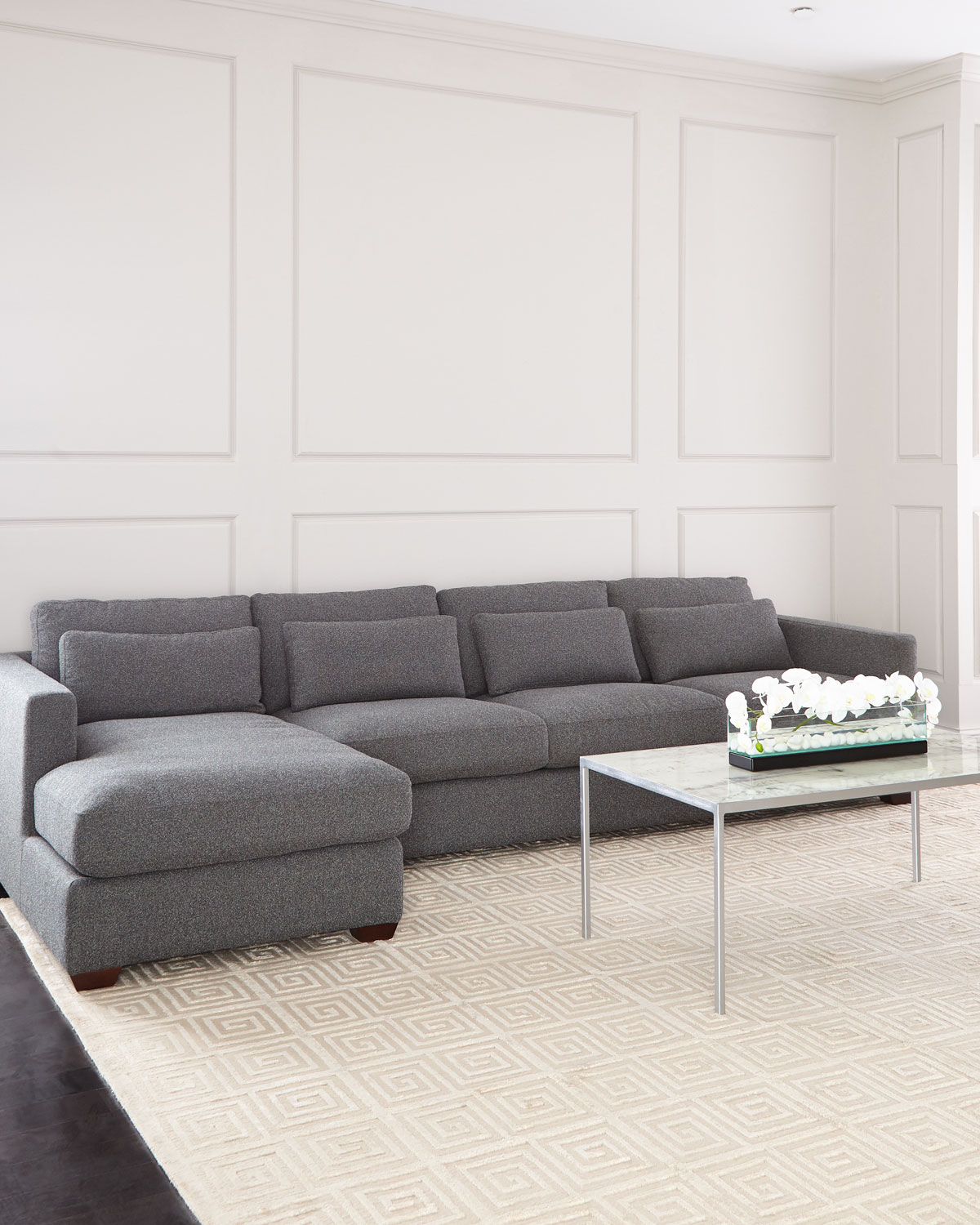 Thyrine Left Facing Sectional And Matching Items Matching Items