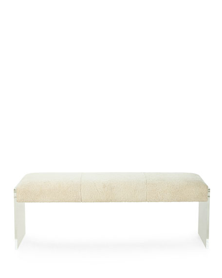 Wallis Shearling Bench