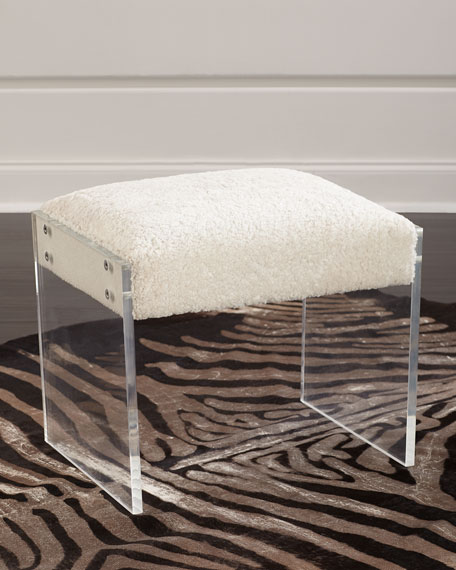 Wallis Shearling Stool