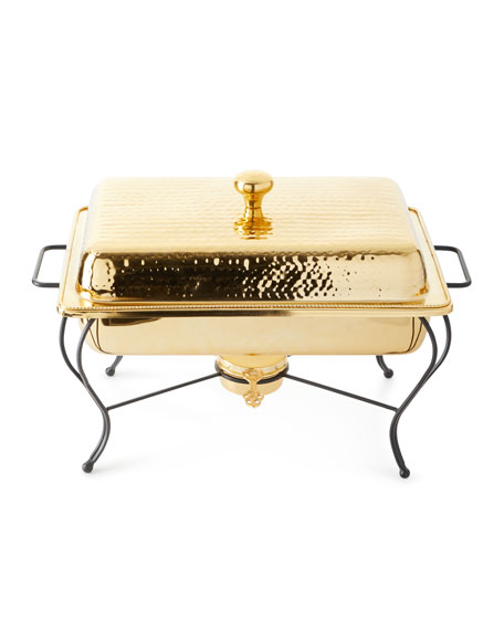 Star Home Designs 4-Quart Rectangular Chafing Dish and