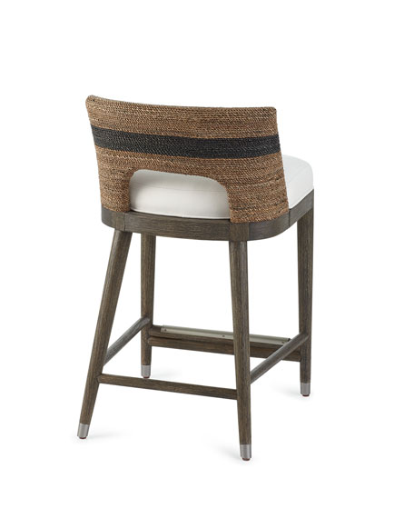 Elijah Rope Counter Stool