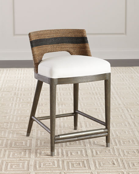 Palecek Elijah Rope Counter Stool and Matching Items