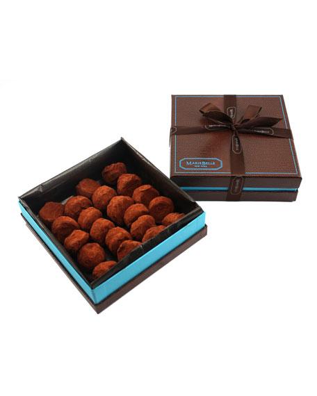 Mariebelle 20-Piece Dark Chocolate Truffle Box