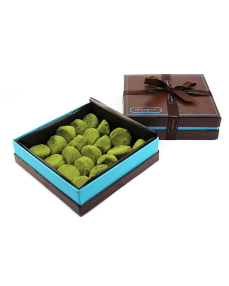 Mariebelle 20-Piece Matcha White Chocolate Truffle Box