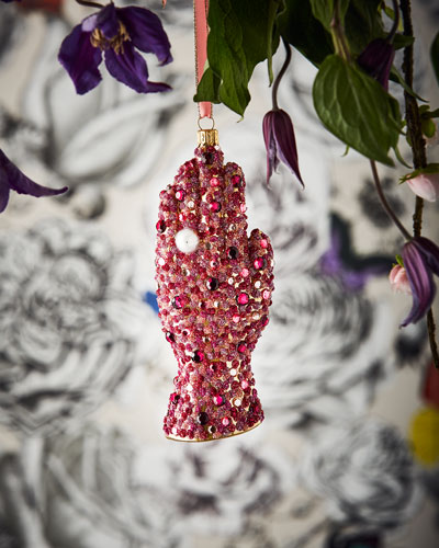 Embellished Hands Ornament