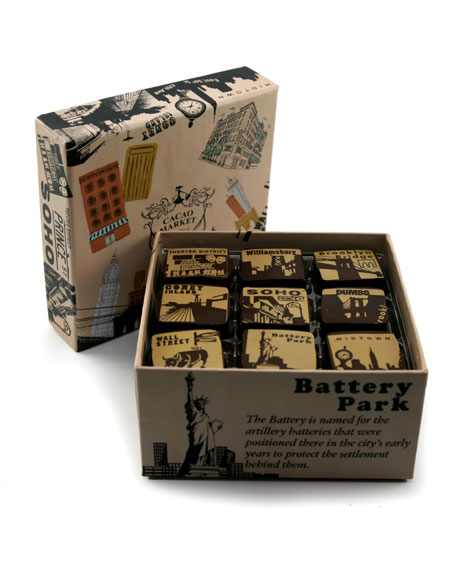Mariebelle 9-Piece New York Caramel Collection