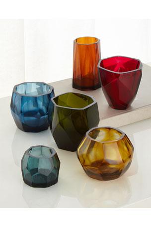 Faceted Vessels, Set of 6